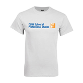 CUNY School of Prof Studies White T Shirt-
