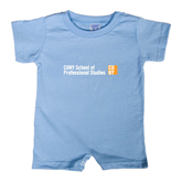 CUNY School of Prof Studies Light Blue Infant Romper-