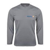 CUNY School of Prof Studies Performance Steel Longsleeve Shirt-