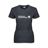 Ladies Dark Heather T Shirt-