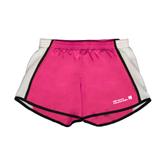 Ladies Fuchsia/White Team Short-