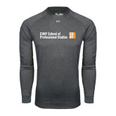 Under Armour Carbon Heather Long Sleeve Tech Tee-