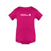 CUNY School of Prof Studies Fuchsia Infant Onesie-