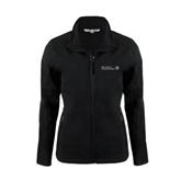 Ladies Black Softshell Jacket-