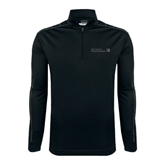 CUNY School of Prof Studies Nike Golf Dri Fit 1/2 Zip Black/Grey Pullover-