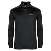 Nike Golf Dri Fit 1/2 Zip Black/Grey Pullover-CUNY SPS Two Line