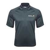 CUNY School of Prof Studies Charcoal Dri Mesh Pro Polo-