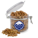 Cashew Indulgence Round Canister-CUNY SPS Two Line