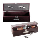 Napa Wine Case-CUNY SPS Two Line Engraved