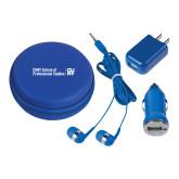 3 in 1 Royal Audio Travel Kit-CUNY SPS Two Line