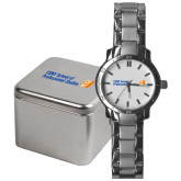 CUNY School of Prof Studies Mens Stainless Steel Fashion Watch-