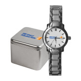 CUNY School of Prof Studies Ladies Stainless Steel Fashion Watch-