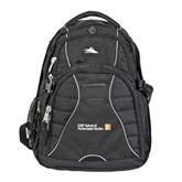CUNY School of Prof Studies High Sierra Swerve Black Compu Backpack-