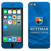 iPhone 5/5s Skin-Guttman Community College w/ Shield