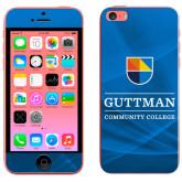 iPhone 5c Skin-Guttman Community College w/ Shield