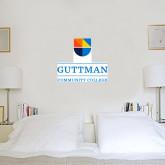 1 ft x 1 ft Fan WallSkinz-Guttman Community College w/ Shield