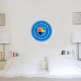1 ft x 1 ft Fan WallSkinz-Circle Logo