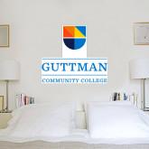 3 ft x 3 ft Fan WallSkinz-Guttman Community College w/ Shield