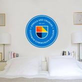 3 ft x 3 ft Fan WallSkinz-Circle Logo