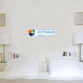 6 in x 1 ft Fan WallSkinz-Guttman Community College w/ Shield Flat