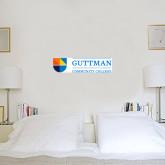 6 in x 2 ft Fan WallSkinz-Guttman Community College w/ Shield Flat