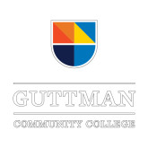 Small Decal-Guttman Community College w/ Shield