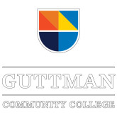 Extra Large Decal-Guttman Community College w/ Shield
