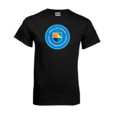 Black T Shirt-Circle Logo