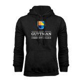 Community College Black Fleece Hoodie-Guttman Community College w/ Shield