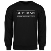 Black Fleece Crew-Guttman Community College Word Mark