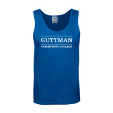 Royal Tank Top-Guttman Community College Word Mark