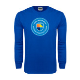 Royal Long Sleeve T Shirt-Circle Logo