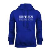 Royal Fleece Hood-Guttman Community College Word Mark