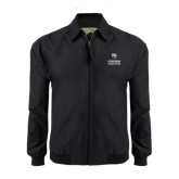 Black Players Jacket-Guttman Community College w/ Shield