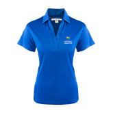 Community College Ladies Royal Performance Fine Jacquard Polo-Guttman Community College w/ Shield