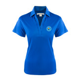 Community College Ladies Royal Performance Fine Jacquard Polo-Circle Logo