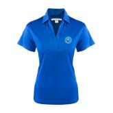Ladies Royal Performance Fine Jacquard Polo-Circle Logo