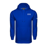 Community College Under Armour Royal Performance Sweats Team Hoodie-Guttman Community College Word Mark