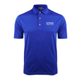 Community College Royal Dry Mesh Polo-Guttman Community College Word Mark