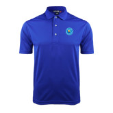 Community College Royal Dry Mesh Polo-Circle Logo