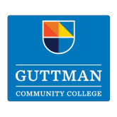 Medium Magnet-Guttman Community College w/ Shield