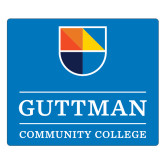Large Magnet-Guttman Community College w/ Shield