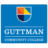 Extra Large Magnet-Guttman Community College w/ Shield
