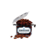 Almond Bliss Small Round Canister-Guttman Community College w/ Shield