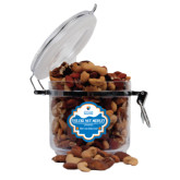 Deluxe Nut Medley Round Canister-Guttman Community College w/ Shield