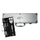 Grill Master 3pc BBQ Set-Guttman Community College Word Mark Engrave