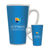 Full Color Latte Mug 17oz-Guttman Community College w/ Shield