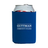 Collapsible Royal Can Holder-Guttman Community College Word Mark