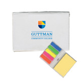 Community College Micro Sticky Book-Guttman Community College w/ Shield