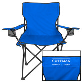 Deluxe Royal Captains Chair-Guttman Community College Word Mark